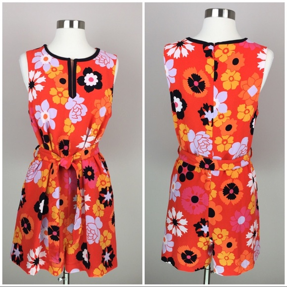 bf6d942b562 Victoria Beckham Pants - Victoria Beckham For Target Retro Floral Romper M
